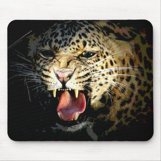 Leopardo Alfombrilla De Raton