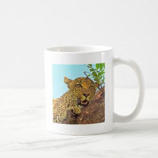 Leopardo Tazas De Café