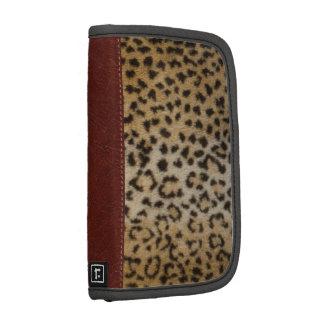 Leopardo y cuero del loeil de Trompe Planificador