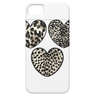 Leopardprint heart iphone iPhone SE/5/5s case