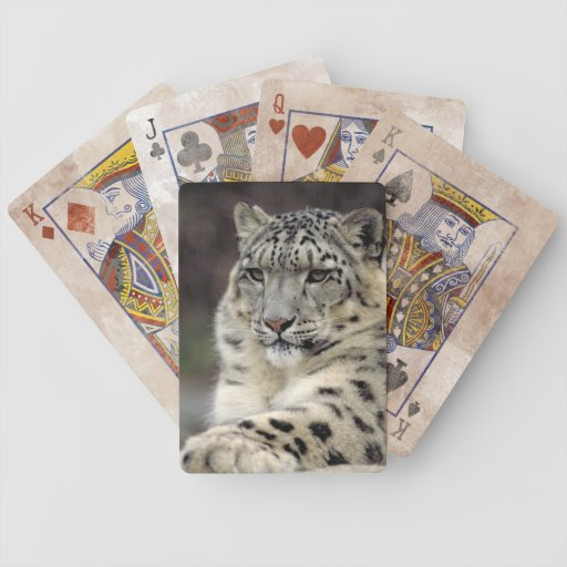Leopard's Hand Bicycle Playing Cards