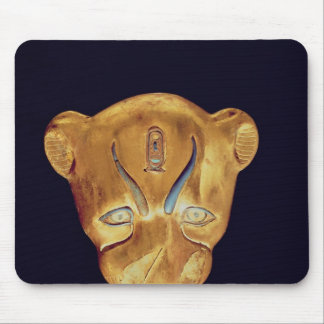 Leopard's head, from the Tomb of Tutankhamun Mouse Pad