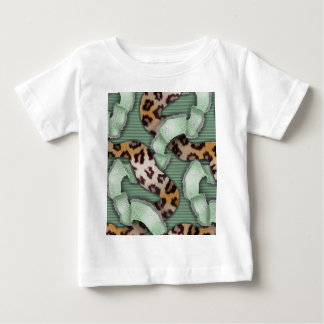 Leopards 'n Lace - green - Baby T-Shirt