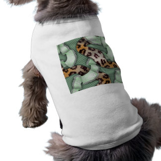 Leopards 'n Lace - green - T-Shirt