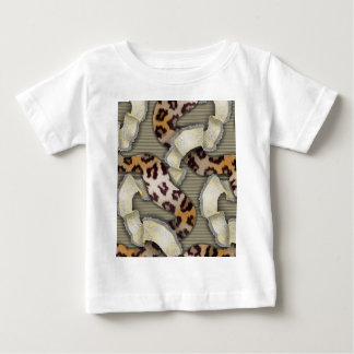 Leopards 'n Lace - ivory Baby T-Shirt