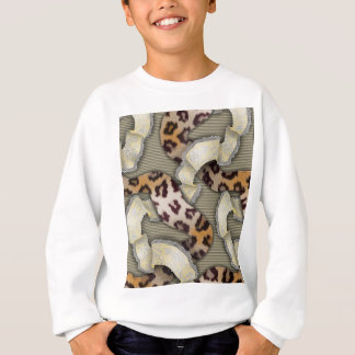 Leopards 'n Lace - ivory Sweatshirt