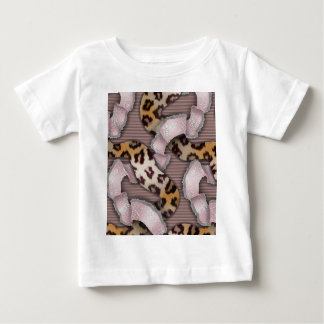 Leopards 'n Lace - pastel pink - Baby T-Shirt