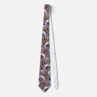 Leopards 'n Lace - purple - Tie