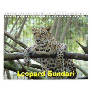 LeopardSundari_008 leopardo Sundari Calendario