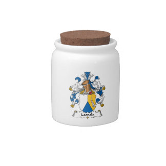 Leopold Family Crest Candy Jar