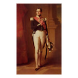 Leopold I  c.1846 Poster