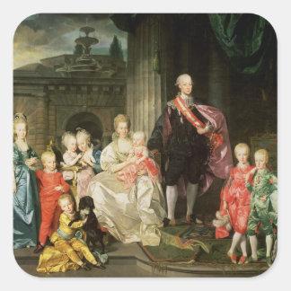 Leopold I, Grand-duke of Tuscany Square Sticker