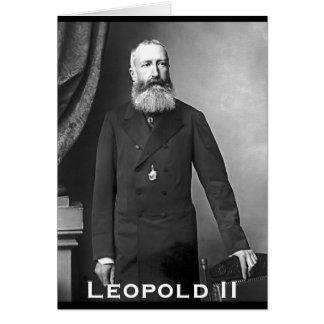 Leopold II van België Card