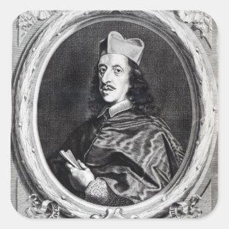 Leopoldo de' Medici cardinal Pegatina Cuadrada