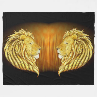 Leo's Pride Fleece Blanket