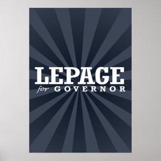 LEPAGE FOR GOVERNOR 2014 PRINT