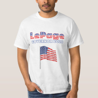 LePage Patriotic American Flag 2010 Elections Shirts