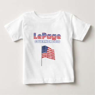 LePage Patriotic American Flag 2010 Elections Tee Shirt
