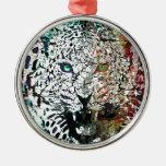 lepard del vector ornamentos de reyes