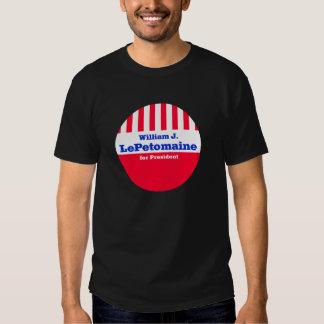 LePetomaine para la camiseta del presidente Playera
