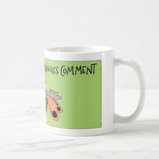 Lepidoptera moth collection coffee mug