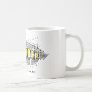 Lepidoptera Pittsburghia-Zazzle Coffee Mug