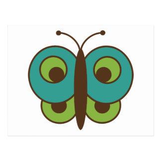 Lepidópteros del insecto del insecto de las tarjetas postales