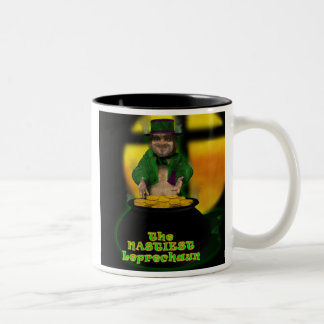 Leprechaun - 01 Two-Tone coffee mug