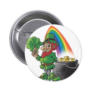 Leprechaun 2 Inch Round Button