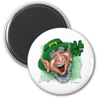 Leprechaun 2 Inch Round Magnet