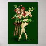 Leprechaun afortunado poster
