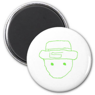 Leprechaun Amateur Sketch Refrigerator Magnets