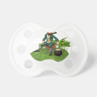 Leprechaun and His Gold Pacifier