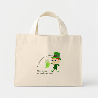 Leprechaun Beer St. Patrick's Day Gift Bag