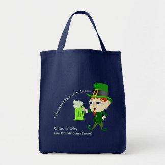Leprechaun Beer St. Patrick's Day Tote Bag
