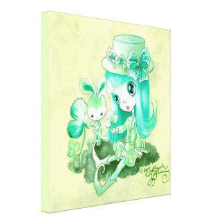 Leprechaun Belle Canvas Print