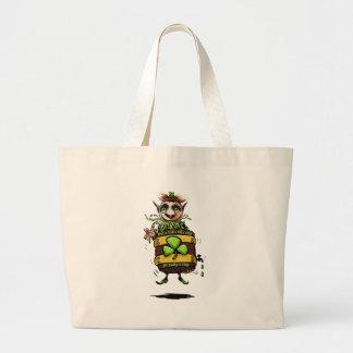 Leprechaun Bolsa Tela Grande