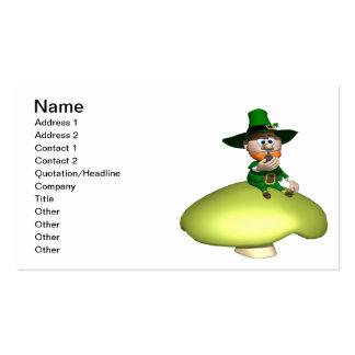 Leprechaun Business Cards