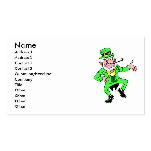 Leprechaun Business Card