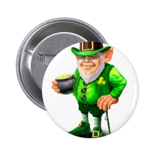 Leprechaun Button