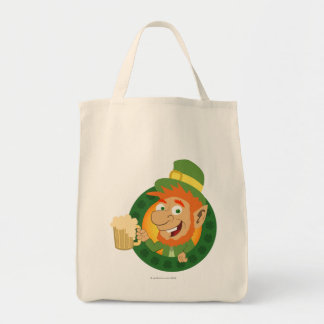 Leprechaun by Pot of Gold Bags