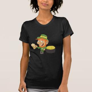 Leprechaun by Pot of Gold T Shirts