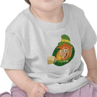 Leprechaun by Pot of Gold T Shirt