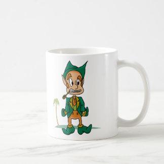 Leprechaun Cartoon Coffee Mugs
