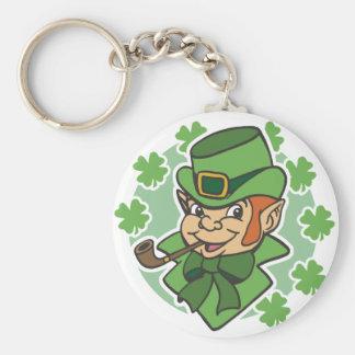 Leprechaun Cartoon St. Patrick's Day Key Chains