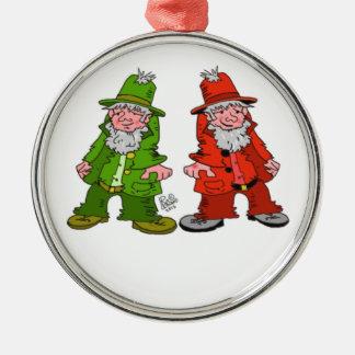 Leprechaun Christmas Ornaments