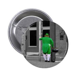 Leprechaun City Diversion Pinback Button
