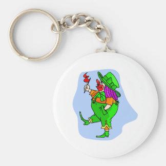 Leprechaun Clown Keychain