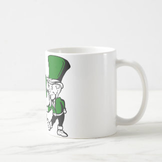 leprechaun coffee mug