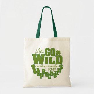 Leprechaun custom bag - choose style
